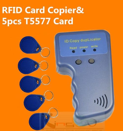 Handheld 125Khz RFID Copier Writer / Duplicator ID Card +5577 tags - KingGo Access Controller store