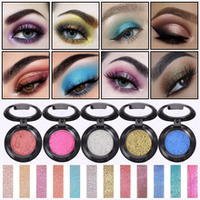 SMAKUP Holographic  Shimmer Glitter Eyeshadow Super Shock Eye Shadow Powder Soft Colors Eye Shadow Eye Makeup Cosmetics все цены