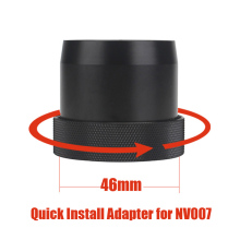 Дизайн 46 мм быстрая установка адаптер байонет для PARD NV007 ночного видения прицел камеры быстрая установка кронштейн адаптер