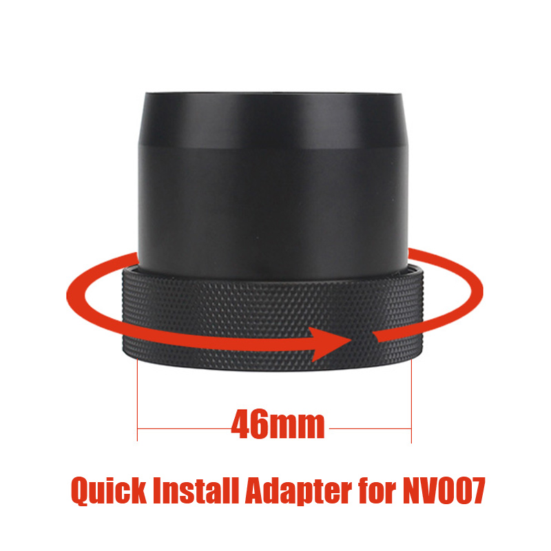 Original Design 46mm Quick Install Adapter Bayonet PARD NV007 Night Vision  Scope Camera Fast Install Sleave Bracket Adapter