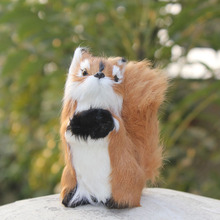 artificial squirrel gift squirrel decoration mini squirrel artificial crafts handmade furry animal
