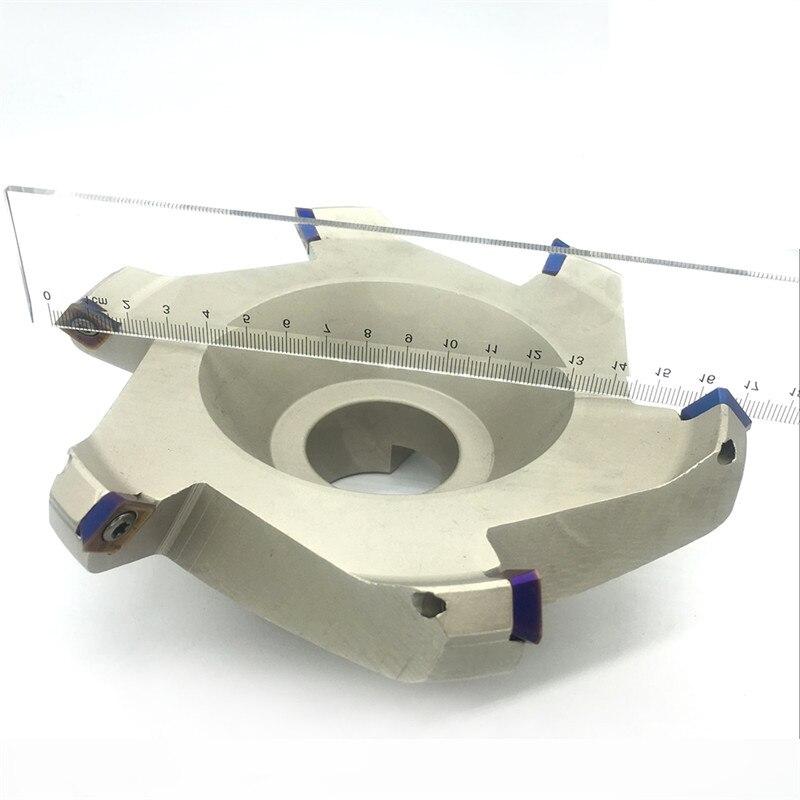 SEKT1204 10PCS 1PCS KM12 160 40 6T Milling Cutter carbide Insert Face Mill Shoulder Cutter For