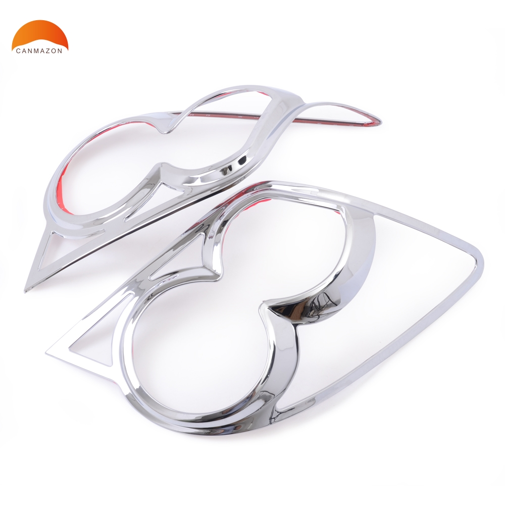 For Chevrolet AVEO Sonic 2011 2012 2013 Sedan ABS Chrome Tail light Rear Lamp Decoration Cover trim Car Styling Accessories car styling chrome side upper edge window trim set for ford focus mk3 sedan 2012 2013
