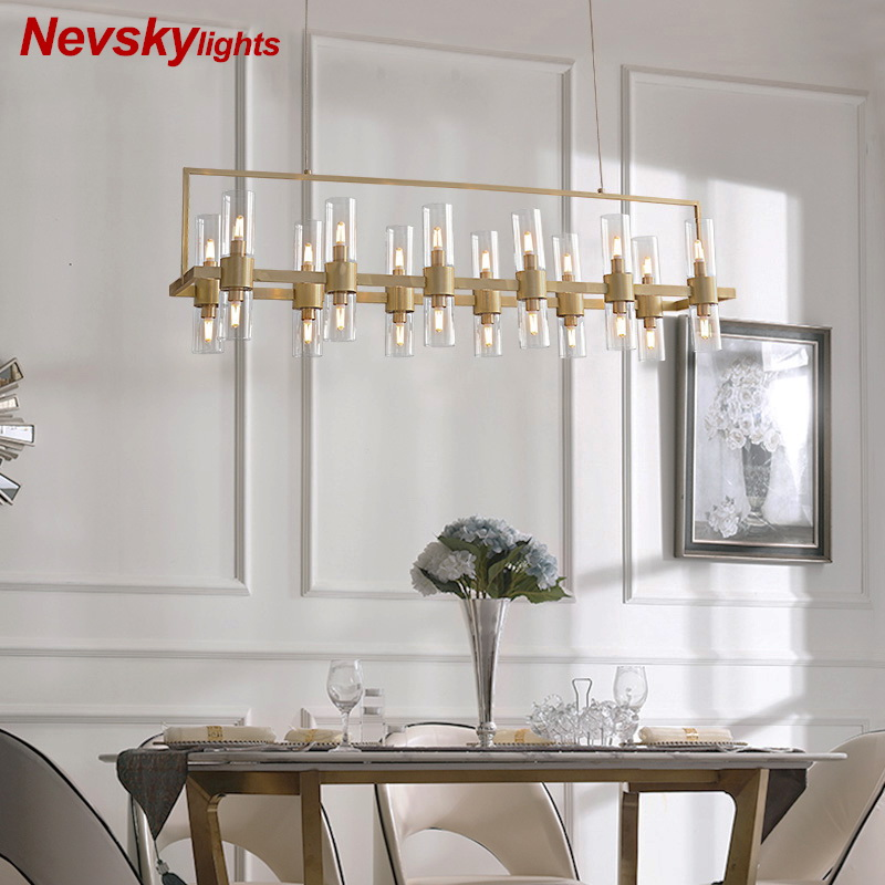 Modern pendant lighting dining lampadario pendant lights lustre led moderne Lamp pendant kroonluchtera for Living Room