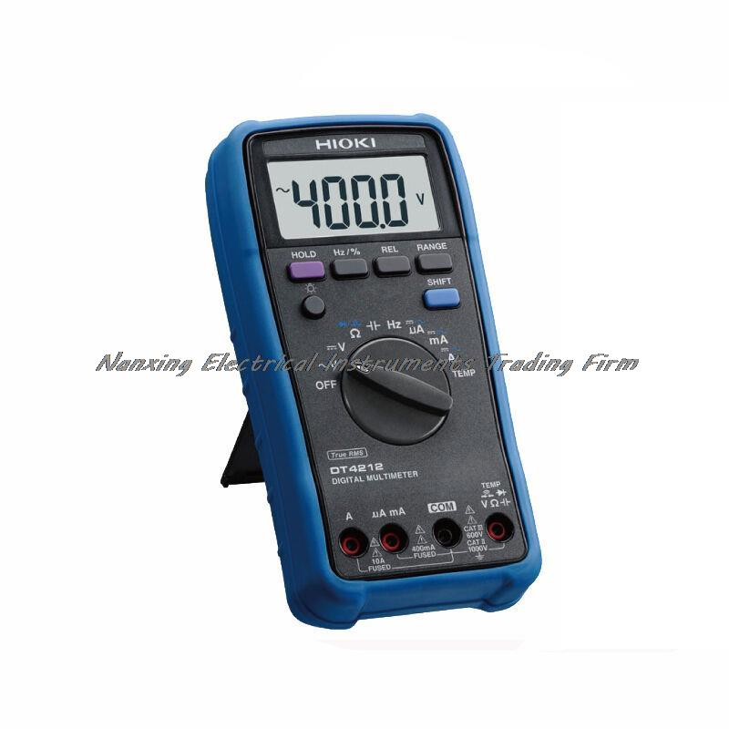 Fast arrival HIOKI DT4212 True RMS DIGITAL MULTIMETER Accuracy цена
