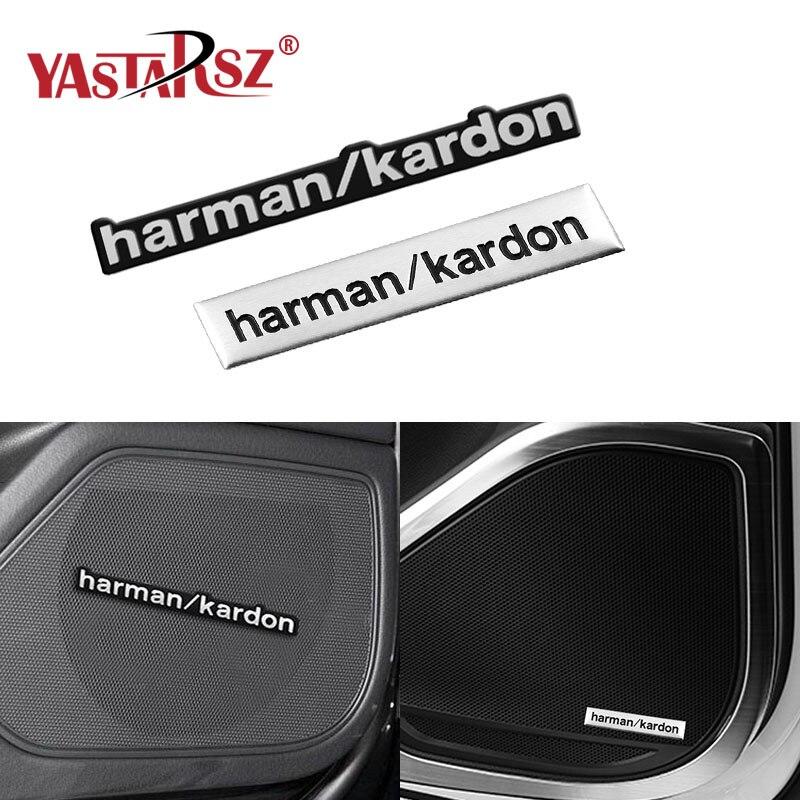 1pcs Harman Kardon Car Audio Decorate Fit Car Styling For Kia Ceed Rio Sportage R K3 K4 K5 Ceed Sorento Cerato Optima 2015 2016