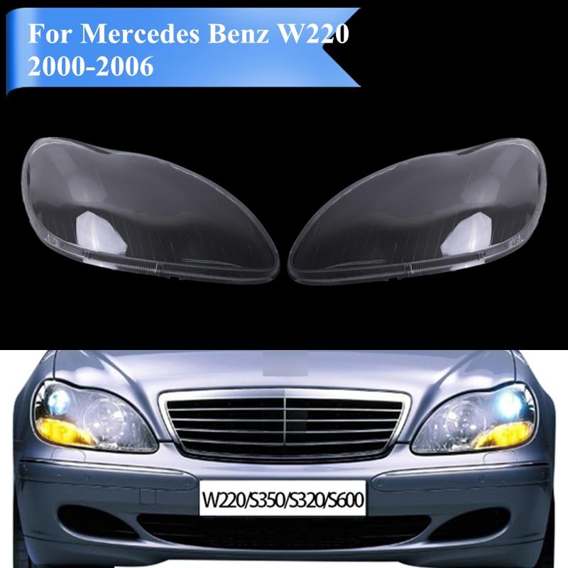 Pour Mercedes W220 couvercle de phare pour Mercedes Benz MB S350 S600 S430 S500 S55 S65 AMG 2000-2006 PD555Pour Mercedes W220 couvercle de phare pour Mercedes Benz MB S350 S600 S430 S500 S55 S65 AMG 2000-2006 PD555
