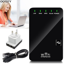UK Plug 300Mbps Mini Wireless N Router Wifi Repeater Long Range Extender Booster #L059# new hot