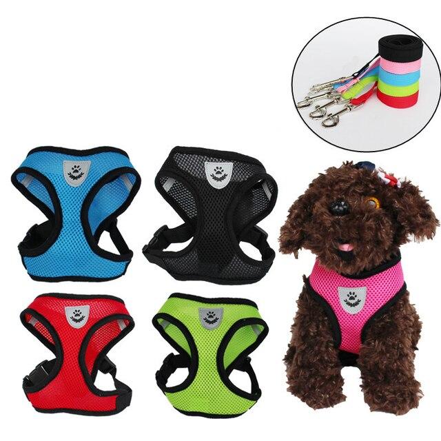 Adjustable Soft Breathable Cat & Dog Harness 6