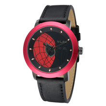 Homens Top Marca VILAM Projeto Dos Desenhos Animados-Relógio Spiderman Crianças Watcnes Miyota Quartzo-Relógio À Prova D' Água Esportes Relogio masculino
