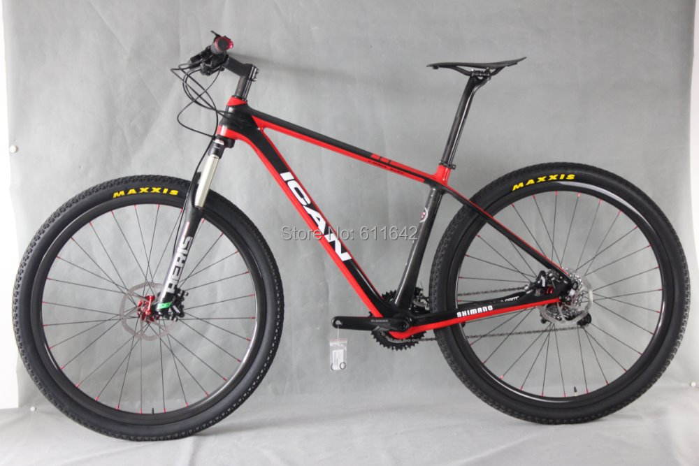 В ican велосипеды 29er полный велосипед группы Х5 комплект 700c углерода жесткий хвост MTB велосипед углерода MTB колеса