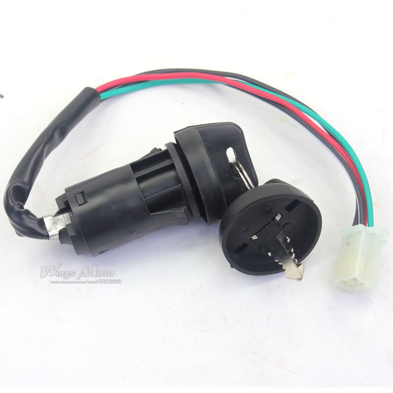 4 WIRES IGNITION KEY SWITCH 50cc 70cc 90cc 125cc ATV DIRT ... on