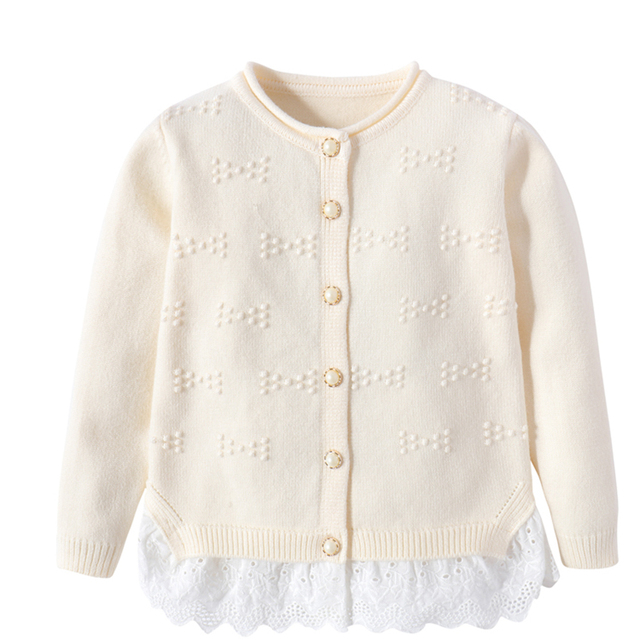 Girls Fashion Sweaters Cardigans Knitted Winter Pullover Baby Girls Infant Girl Sweaters 2016 Autumn Winter