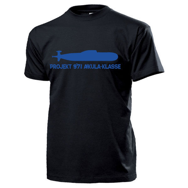 2019 mode Heißer verkauf Projekt 971 AKULA Klasse U-Boot Russland Sowjetunion Marine-T Shirt T shirt