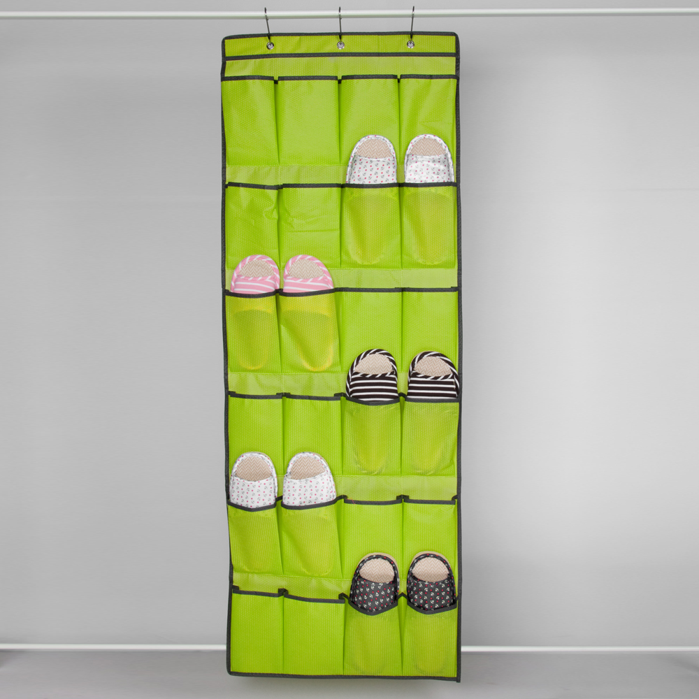 [DROPSHIPPING AVAILABLE] Leu0027sort Cheap Home Shoes Storage Solution Behind  Door / Wall Hanging Shoe Organizer With 24 Pockets In Hanging Organizers  From Home ...
