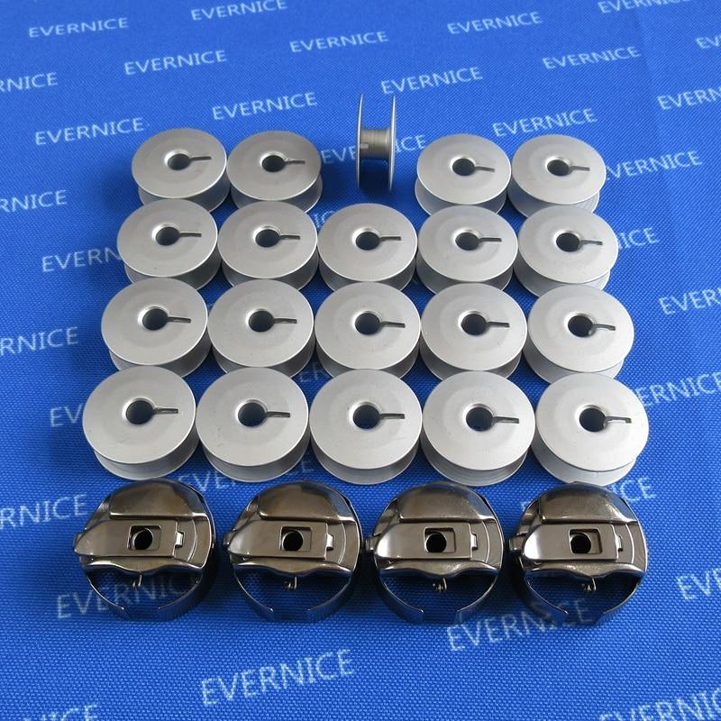 4 cajas de bobina de bordado de cola de cerdo grande M + 20 bobinas para TAJIMA Barudan Melco SWF Amaya