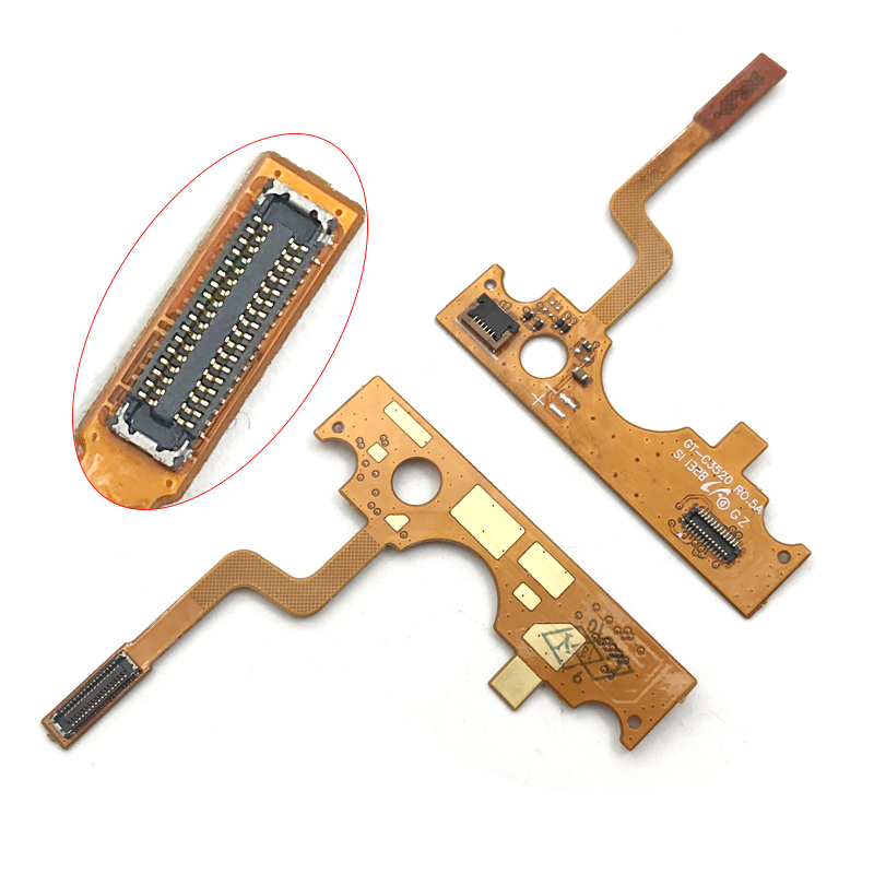 High Quality Compatible For SAMSUNG C3520 GT- C3520 Replacement LCD Slide Slider Flex Cable Ribbon