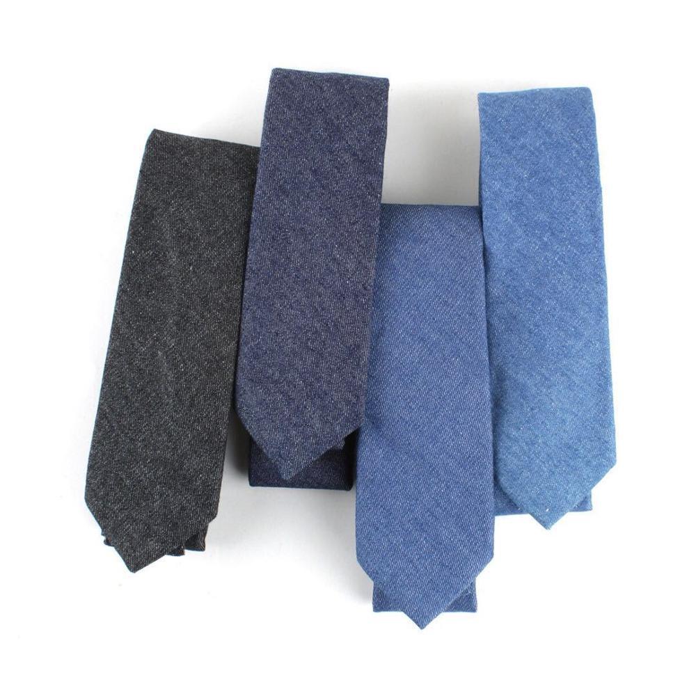 Baumwolle Krawatte Set für Männer Cowboy Krawatte Taschentuch - Bekleidungszubehör - Foto 2