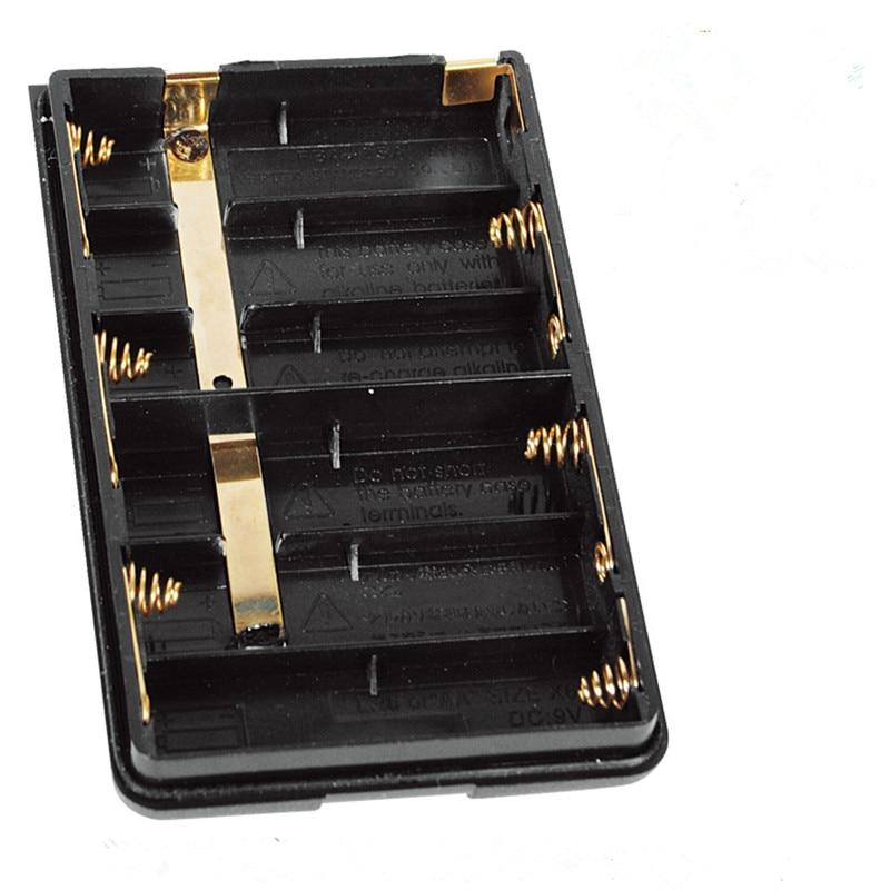 for Yaesu/Vertex Standard Radio VX-150 Walkie Talkie Battery Case VX-400 HX370 FT-60R/E VXA-300 VX-160 FBA-25A Battery pack Case