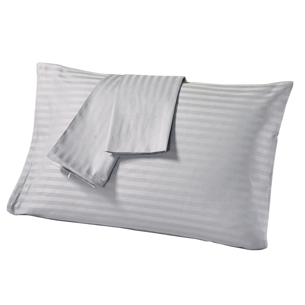 EXCER Standard Pillowcase Set of 2 Piece 300 Thread Count 100% Cotton Pillow Cases Silky Soft & Wrinkle Free US Size Queen 20x30