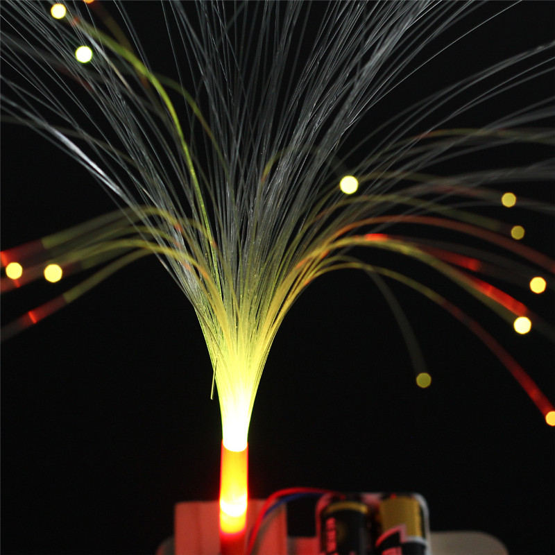 Optic Fiber Electronic DIY Kit