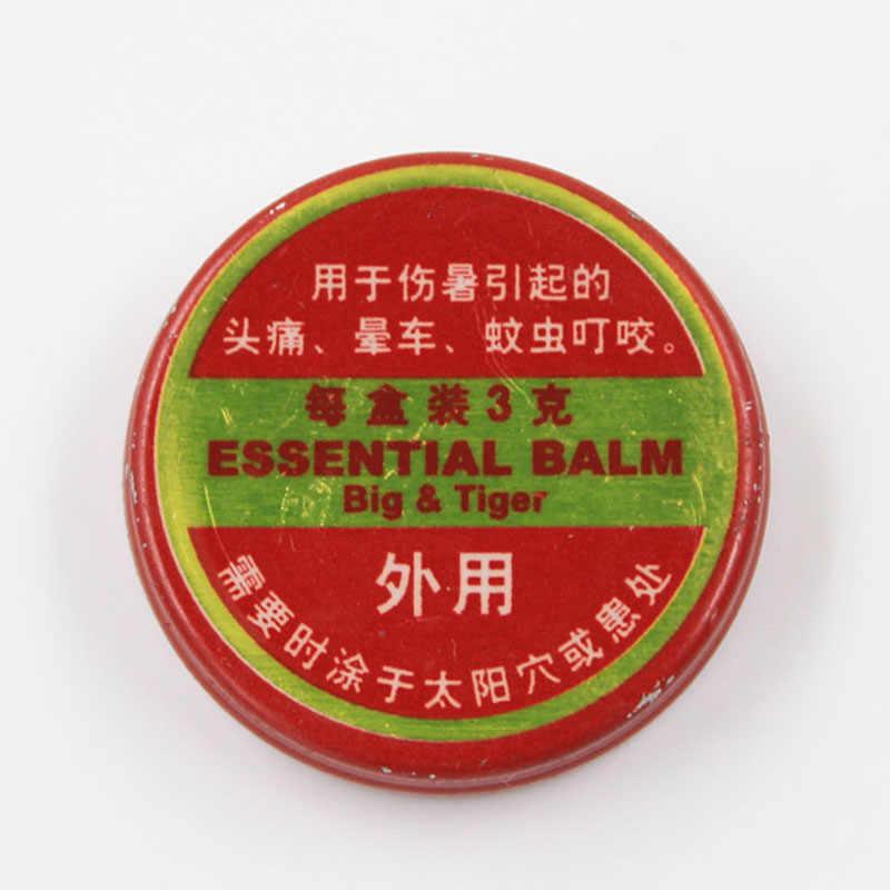 2018 nouveau QingLiangYou pour maux de tête carmal soulagement des démangeaisons tigre huiles essentielles baume 3g M3