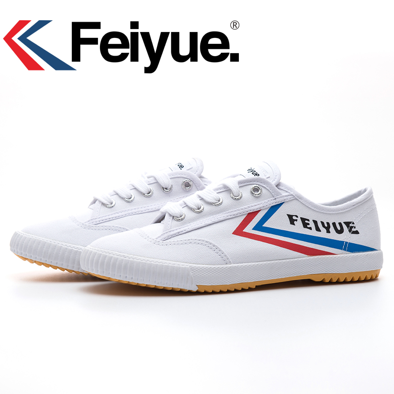 Prix pour Français d'origine baskets Feiyue chaussures arts Martiaux Taichi Taekwondo Wushu Classique blanc noir KungFu femmes hommes chaussures