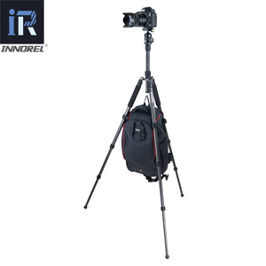 Image 5 - RT40C プロのカーボンファイバー三脚一眼レフカメラ軽量スタンド高品質胃袋移動プロ tripode 164 センチメートル最大