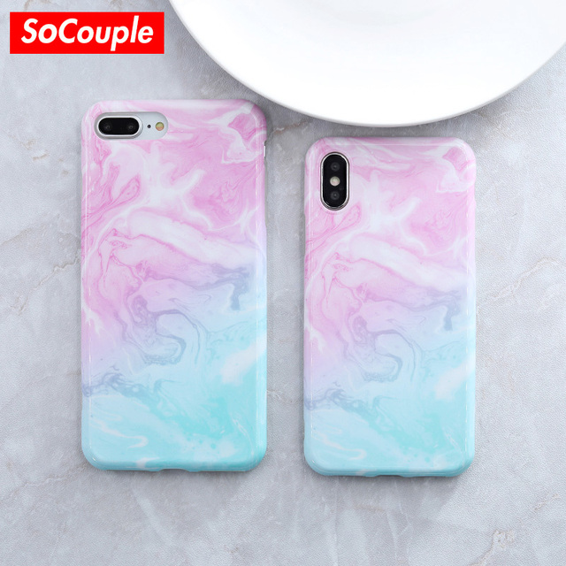 silicone marble case iphone 7