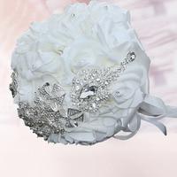 2017 New Beautiful Bride PE Foam Holding Flower Wedding Props Western Style Bridesmaid Valentine S Day