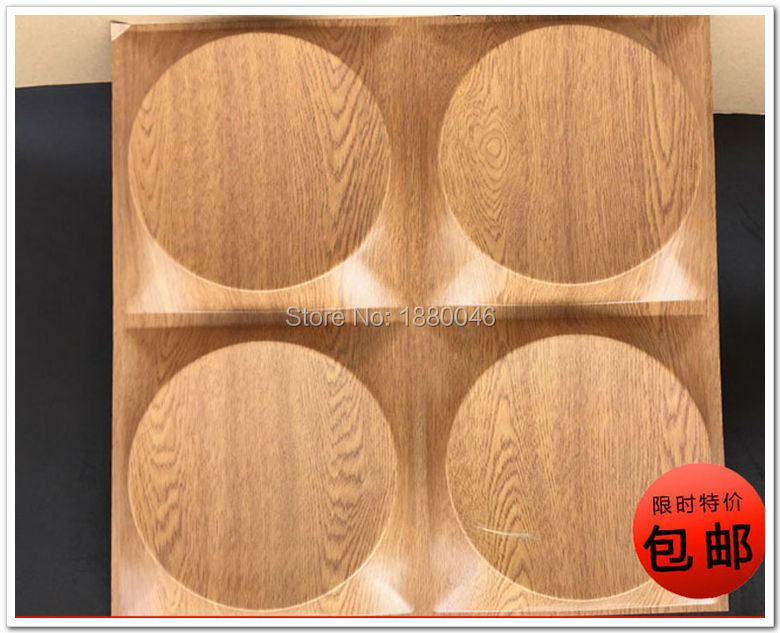 Free shipping New style classic Wood Grain wooden wall panel