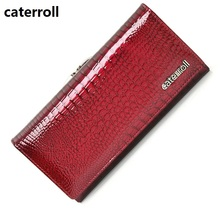 Купить с кэшбэком  women wallets genuine leather female purse alligator long ladies clutch purses 2019 new famous designer money bag