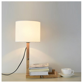 Desk Lamp Nordic Modern Lighting Creative Personality Desk Fashion Cloth Fabric Bedroom Bedside Lamp Table Lamps