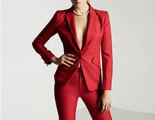High Quality Women Formal Set Office Ladies Work wear Female Pant Suits elegant business uniform style 2 pieces trouser suit