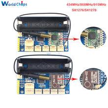 433MHz/868MHz/915MHz LoRa Rádio Nó V1.0 V2.0 Módulo Sem Fio 2.4G RFM95 RFM98 SX1276 ATmega328P SX1278 para Arduino 3.7-12V