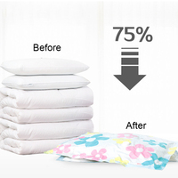 11pcs Set Thickened Vacuum Storage Bag Vacuum Compressed Bag With Hand Pump Reusable Blanket Clothes Bag