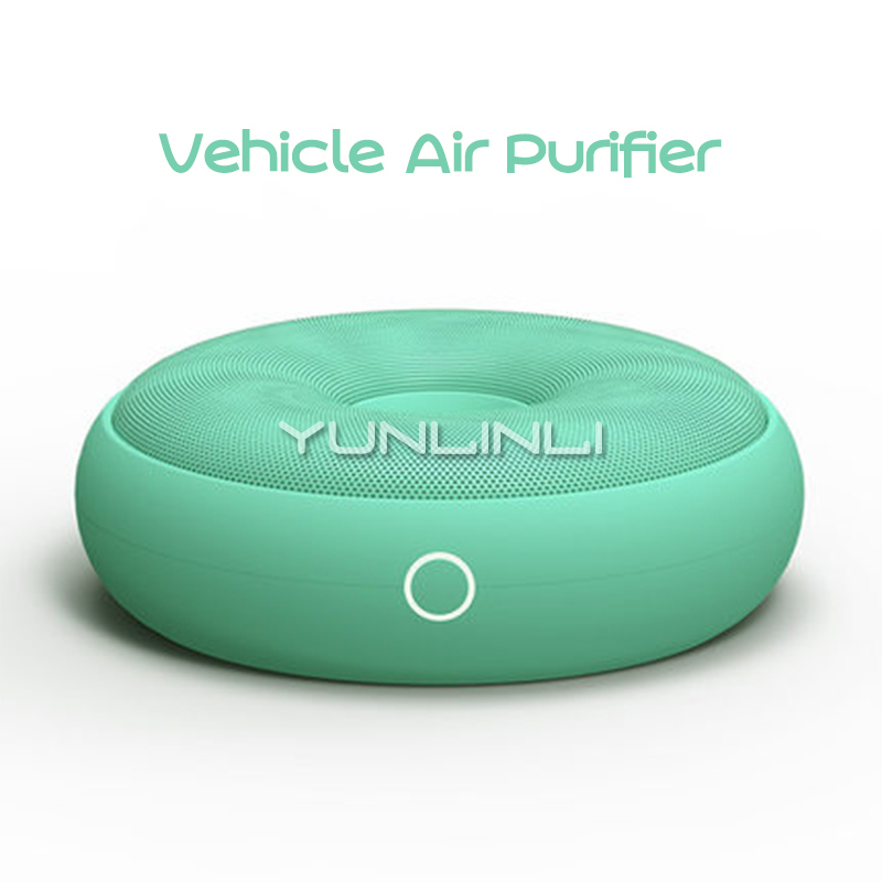 5V Mini Vehicle Air Purifier Portable Car Air Formaldehyde Cleaning Vehicle Deodorization Purifier & Formaldehyde Removing H350 air purifier tecnologia inteligente vehicle air purifier deformaldehyde vehicle use oxygen bar incense pm2 5