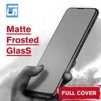 Nenhuma impressão digital fosco fosco vidro temperado no para xiaomi redmi note 7 6 pro 4x s2 5x 6x f1 mix 2s 3 filme protetor de tela