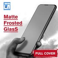 Nessun vetro temperato satinato opaco per impronte digitali per Xiaomi Redmi Note 10 9 6 7 8 Pro 4X F1 M3 F3 Poco X3 Nfc pellicola salvaschermo