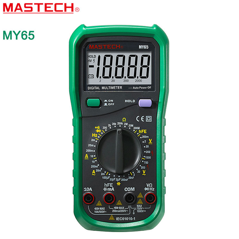 MASTECH MY65 Digital Multimeter DMM AC/DC Voltmeter Ammeter Ohmmeter w/ Capacitance Frequency & hFE Test Voltimetro Tester rasoul moradi and hamid lankarani impact dynamics of mechanical systems and structures