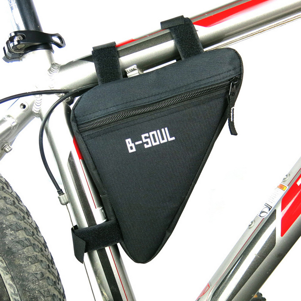 Waterproof Triangle Bicycle Bags Front Tube Frame Cycling Bag Mtb