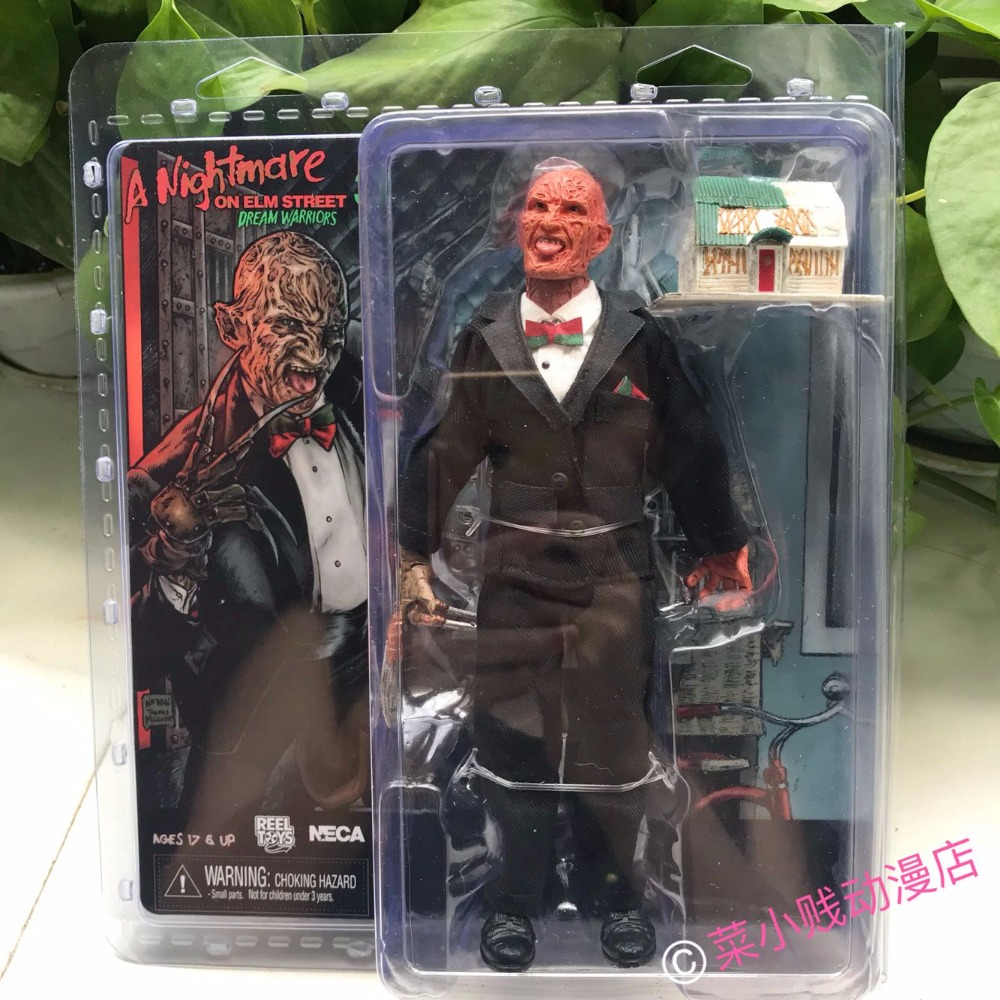 NECA A Nightmare on Elm Street Freddy Krueger Suit S PVC Action Figure Collectible Toy 7 18CMNECA A Nightmare on Elm Street Freddy Krueger Suit S PVC Action Figure Collectible Toy 7 18CM