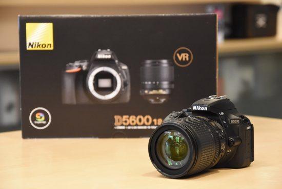 Nikon D5600 DSLR Camera -24.2MP -Full HD 1080p -Wi-Fi Bluetooth with AF-P 18-55mm VR Lens Kit
