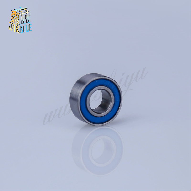 Free Shipping 10Pcs S688-2rs <font><b>688</b></font> 2rs S688 <font><b>Rs</b></font> Blue Or Black Rubber Bearings 8x16x5 Mm Stainless Steel Ball Bearings image