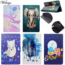 Wekays For Huawei T1 7.0 Cute Cartoon Unicorn Leather Case For Huawei MediaPad T1 7.0 T1-701 T1-701U T1-701W T1-701UA Cover Case минитермометр testo 905 t1