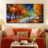 Larger Modern Home Decoratian Wall Art Oil Painting Flower Tree On Canvas Art Set Colorful WallPaper Abstract Acrylic Pricture