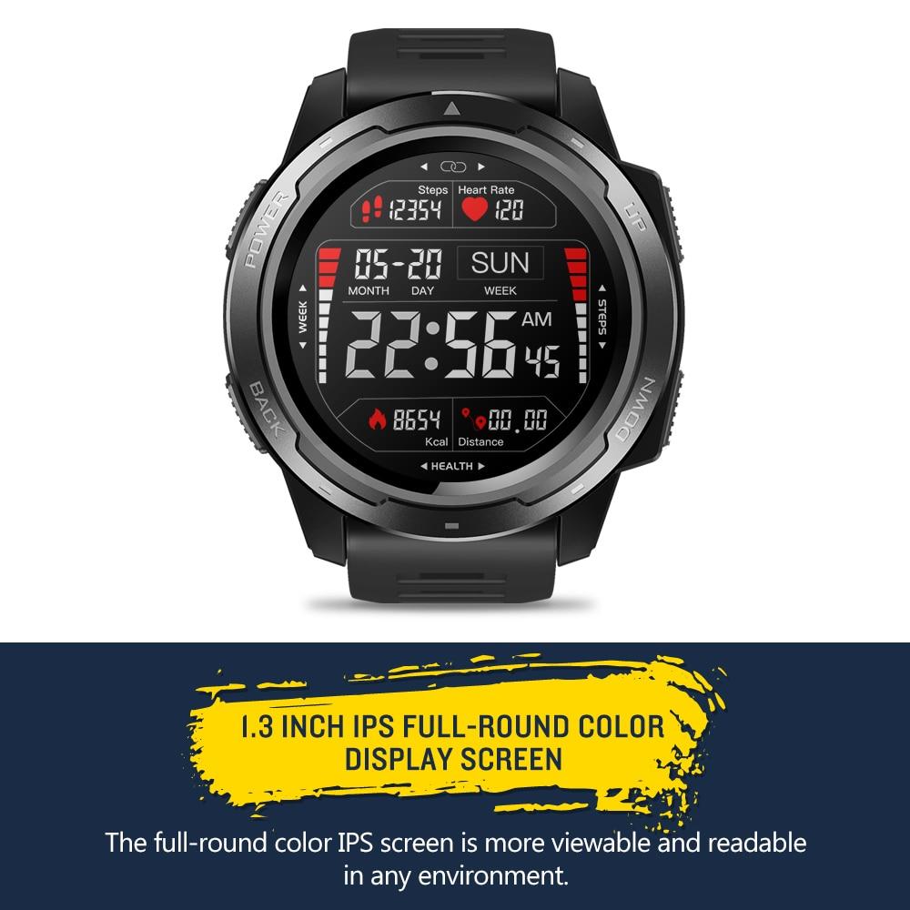 Zeblaze VIBE 5 IP67 étanche fréquence cardiaque longue durée de vie de la batterie écran d'affichage couleur multi-sports Modes Fitness Tracker montre intelligente - 3