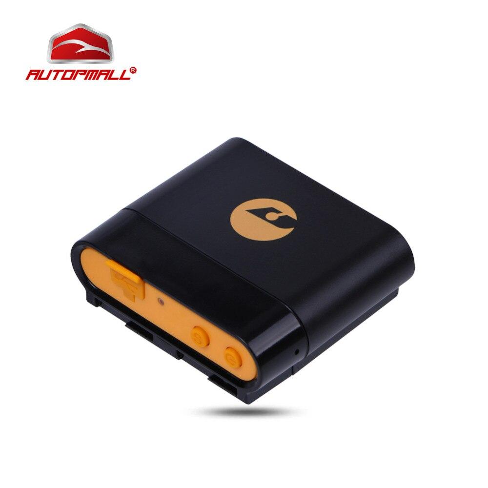 Личная Pet GPS локатор TK108 личный сигнал тревоги geo-загородка в режиме реального времени 860 мАч GPS gsm двойной способ отслеживания 250 часов в режиме ожидания