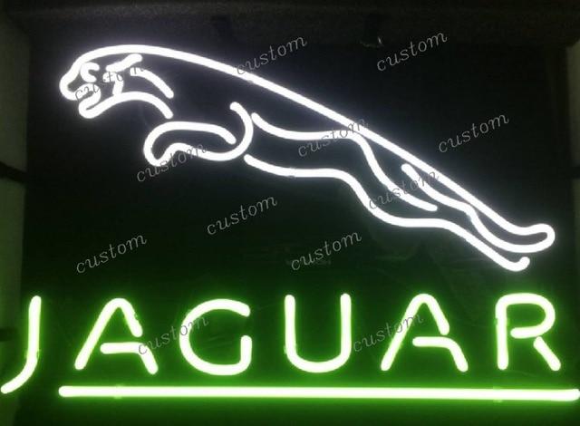 Jaguar Cars Neon Light Sign Beer Bar