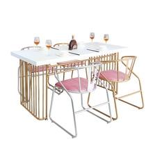 Нордический прочный серебряный золотой железный стул косметический стул красивый стул для маникюра с удобной подушкой 53*53*74 см